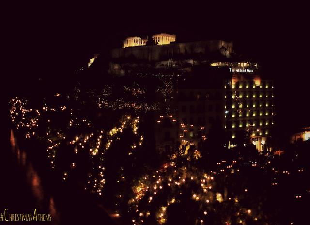 Athènes fetes de fin d'annee noel