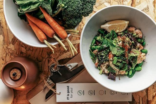 Les plats sains et savoureux du restaurant It à Kolonaki