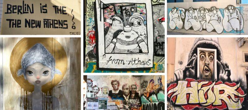 Visite guidée : Street-art et graffitis à Athènes
