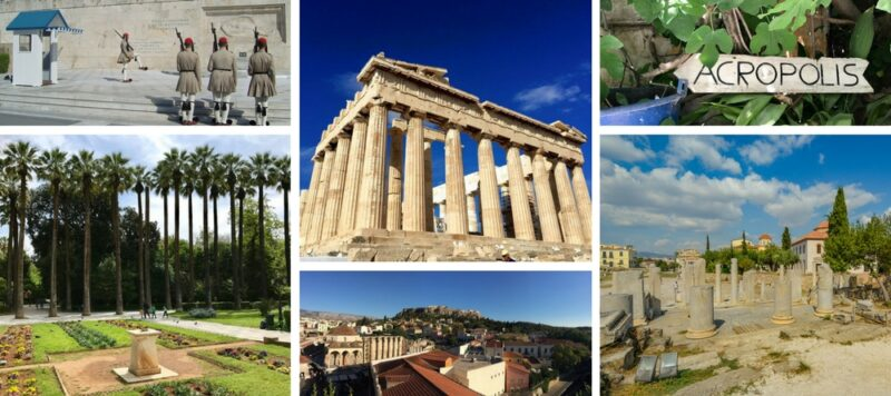 Visites guidées d'Athènes en français avec guide français