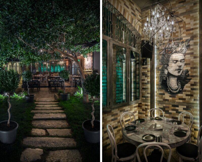 Feedel Urban gastronomy restaurant athenes