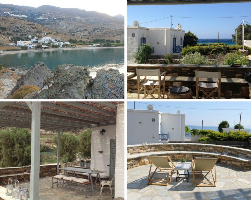 Louer une maison à Tinos : la villa Elia