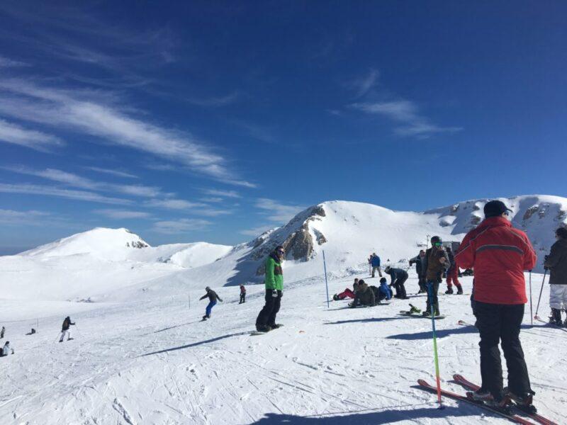 station de ski grece mont parnassos