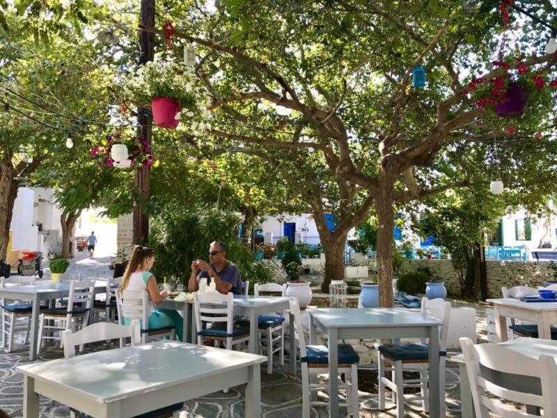 Chora Folegandros - restaurants folegandros - ou manger folegandros