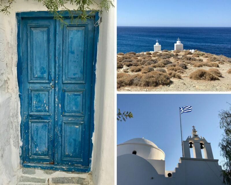 L'île de Folegandros en Grèce Cyclades