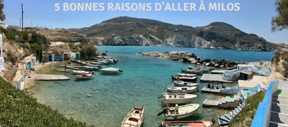 que faire à Milos - Coup de coeur ile grecque Milos Cyclades