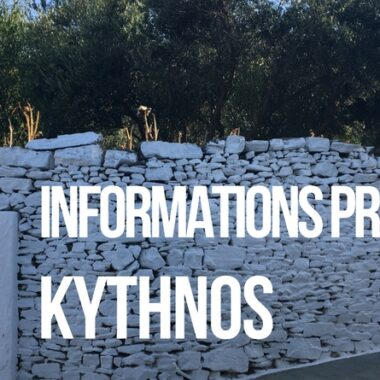 informations pratiques Kythnos : logement, transport, ferry