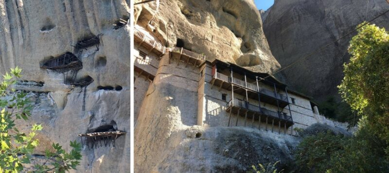 Echelles, grottes et Saint Antoire Météores