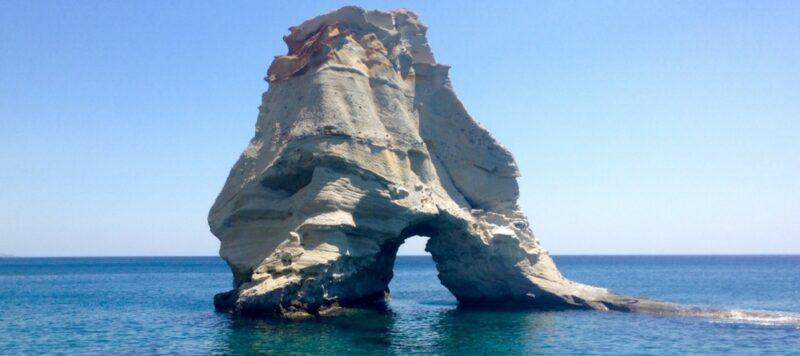 Le superbe site de Kleftiko, accessible uniquement par la mer
