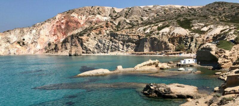 Les plages de Milos firaplaka