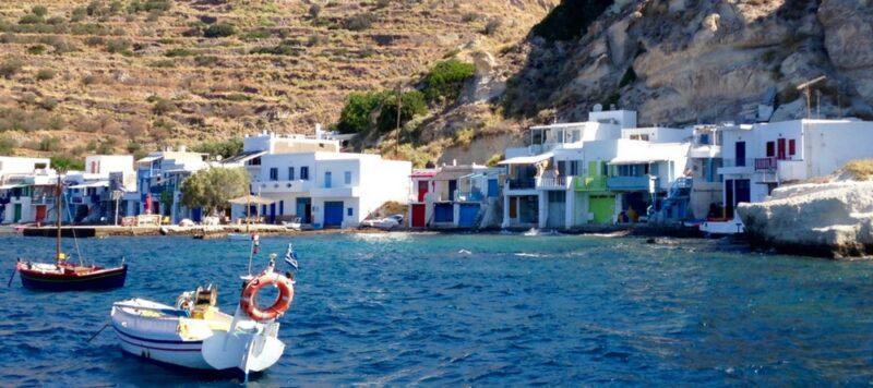 Klima, un petit village de pêcheurs à Milos