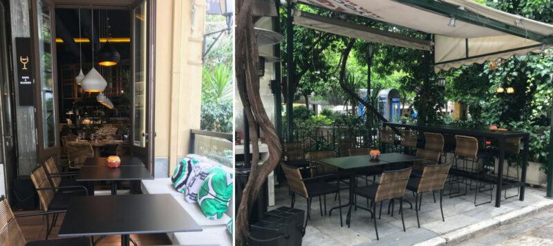 Terrasse l'audrion restaurant athenes