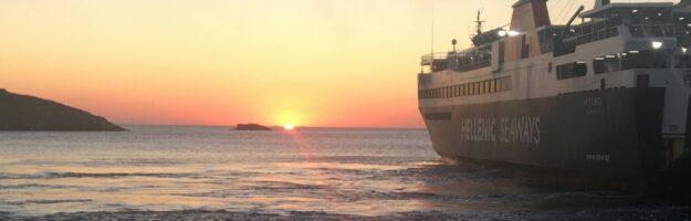 traversée bateau ferry pour les îles grecques