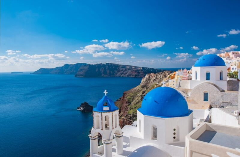 Santorin best of iles grecques. Les plus belles iles grecques