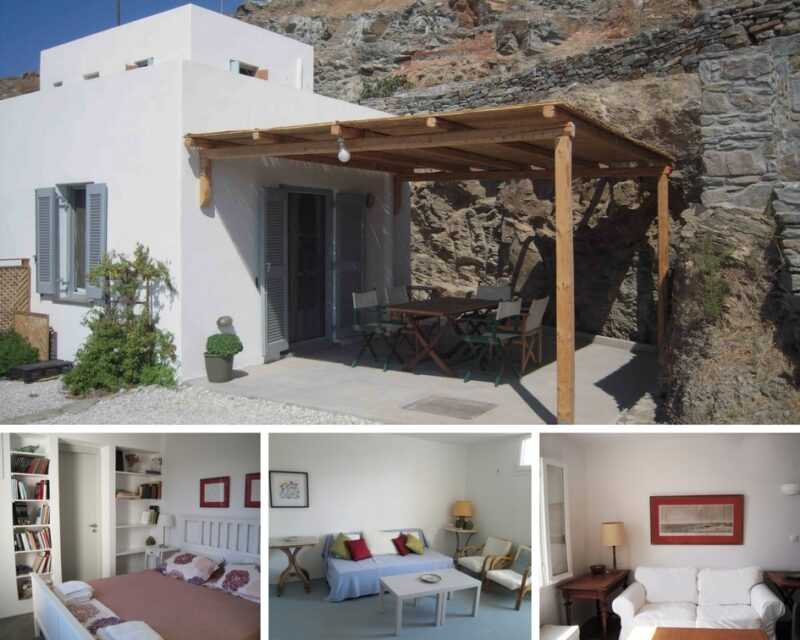 location maison à Kythnos potamia