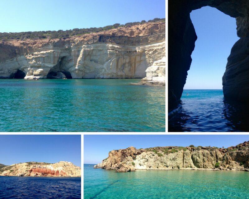 Excursion en bateau à Milos - Le tour de l'île de Milos en bateau