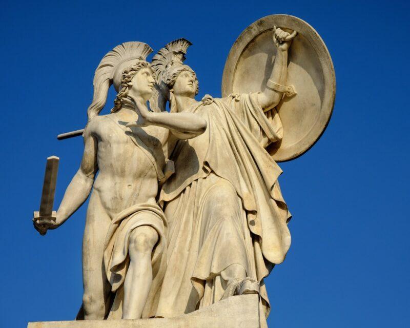 visite guidée acropole mythologie grecque