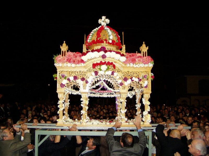 paques vendredi saint grece corfou epitaphe