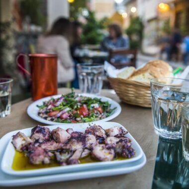 Visite culinaire d' Athènes en français
