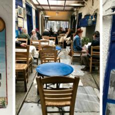 La taverne AVLI à Athènes Psyri. Un lieu insolite