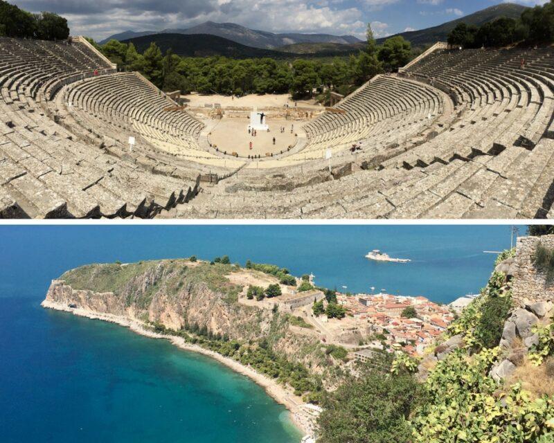 excursions journee depuis athenes : epidaure mycenes nauplie