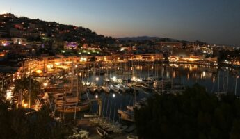 Mikrolimano au Pirée à Athènes