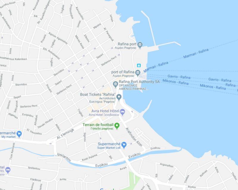 ports athenes : rafina