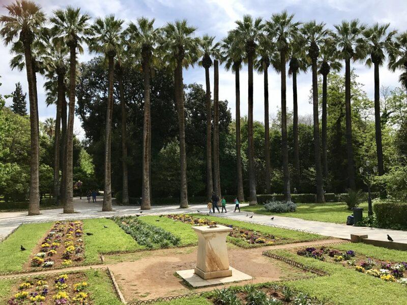 Visiter Athènes - jardin national