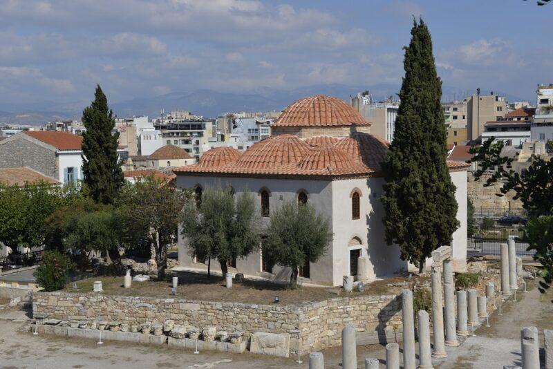 Visiter Athènes : l'agora romaine et la mosquée de fethyie
