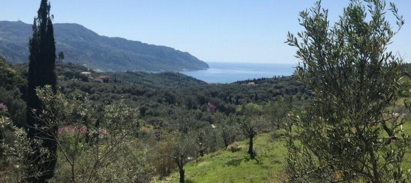 L'île de Corfou en Grèce : best of - randonnée