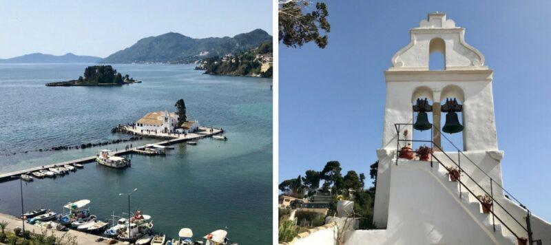 L'île de Corfou en Grèce : best of - Le monastère Vlachernes