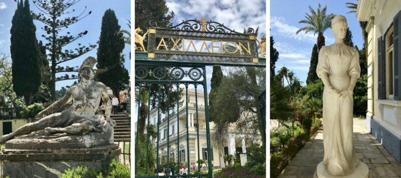 L'île de Corfou en Grèce : best of - le palais de sissi