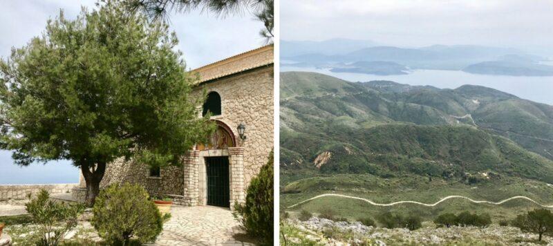 'île de Corfou en Grèce : best of - vue pantokrator