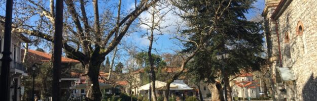 kalavrita place village montagne grece