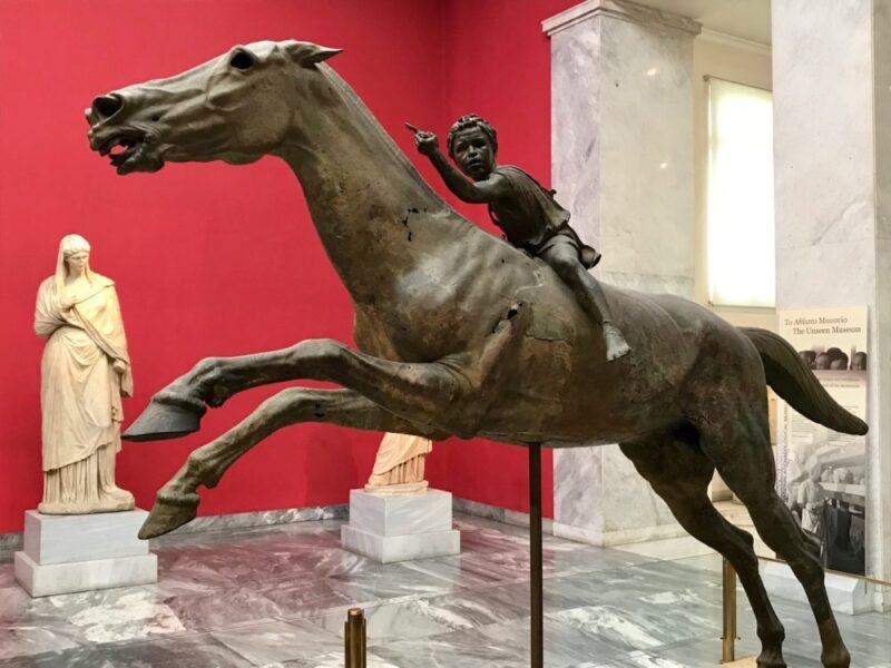 Visiter Athènes : le musée nationale d'archéologie