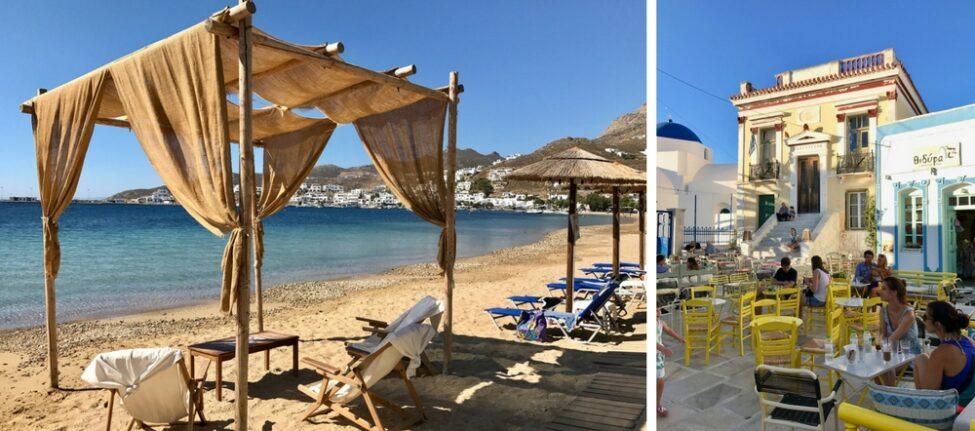 L'île de Serifos dans les Cyclades : informations pratiques