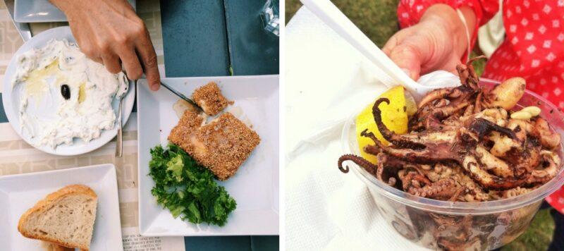 visiter athenes : manger grec