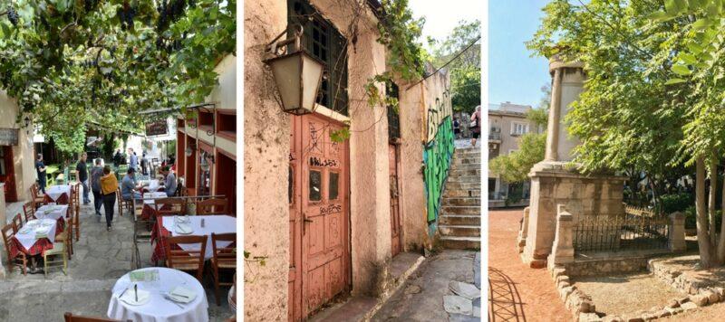 Visiter Athènes : Plaka