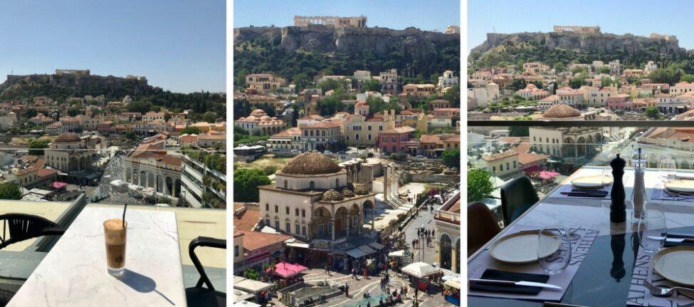 Le rooftop A for Athens : incontournable à Athènes