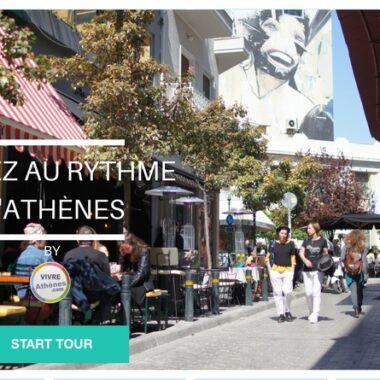 audioguide d' Athènes par vivre athènes Monastiraki marché central psyri