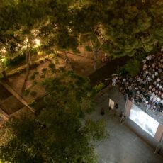 Le festival du cinema de plein air à Athènes