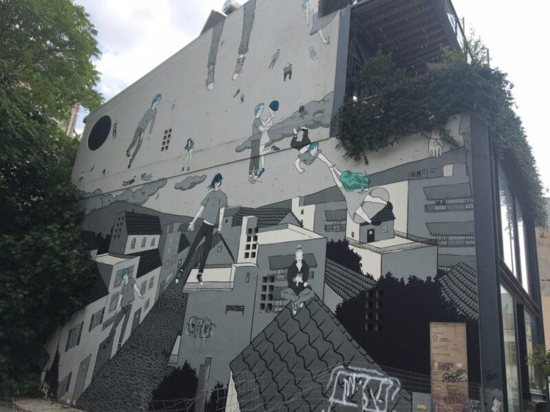 psyri quartier insolite street art athenes