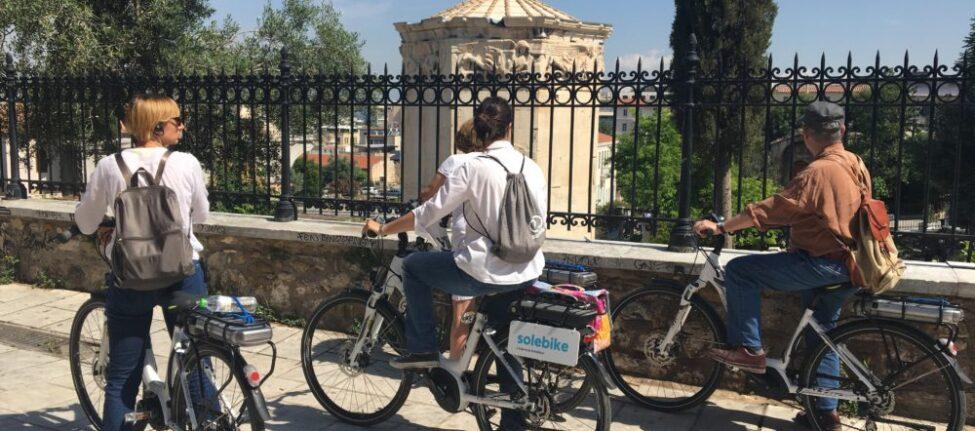 tour vélo electrique athenes