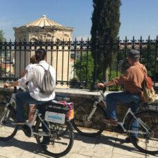 visiter athenes en vélo électrique riviera athenienne plaka acropole