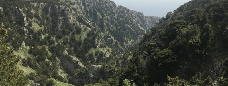 gorges imbros crete randonnees