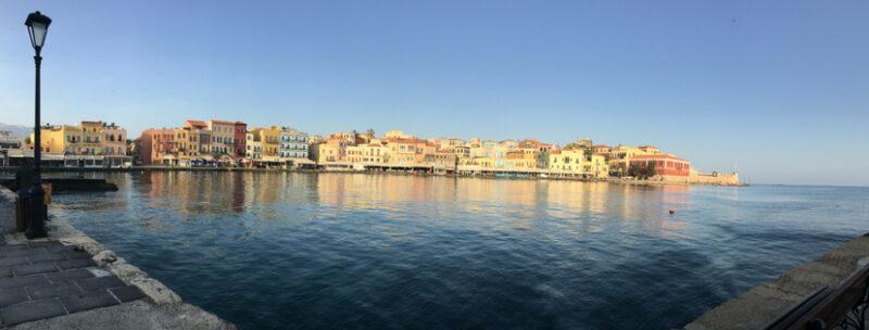 le port de la canée chania crete