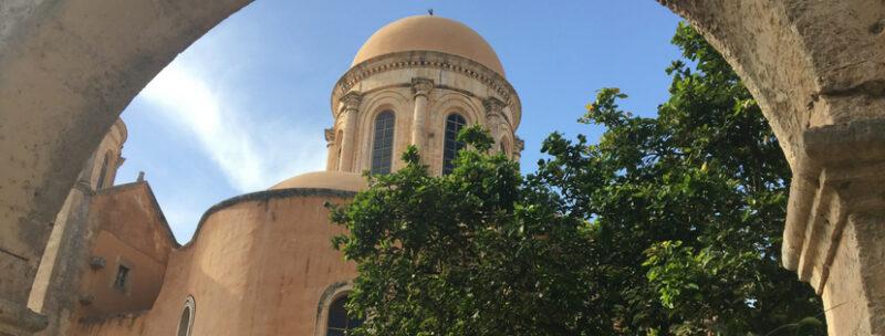 monastere agia triada agia governetou agia katoliko