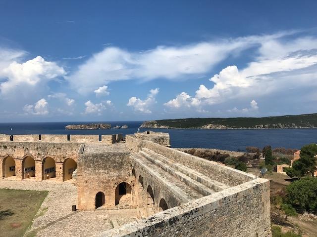citadelle pylos neokastro messenie peloponese