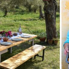 Un repas chez l'habitant en Grèce avec Cuisineblue