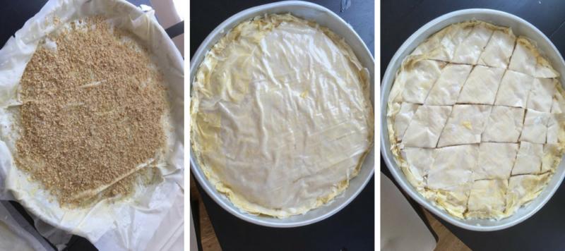 La recette des baklavas